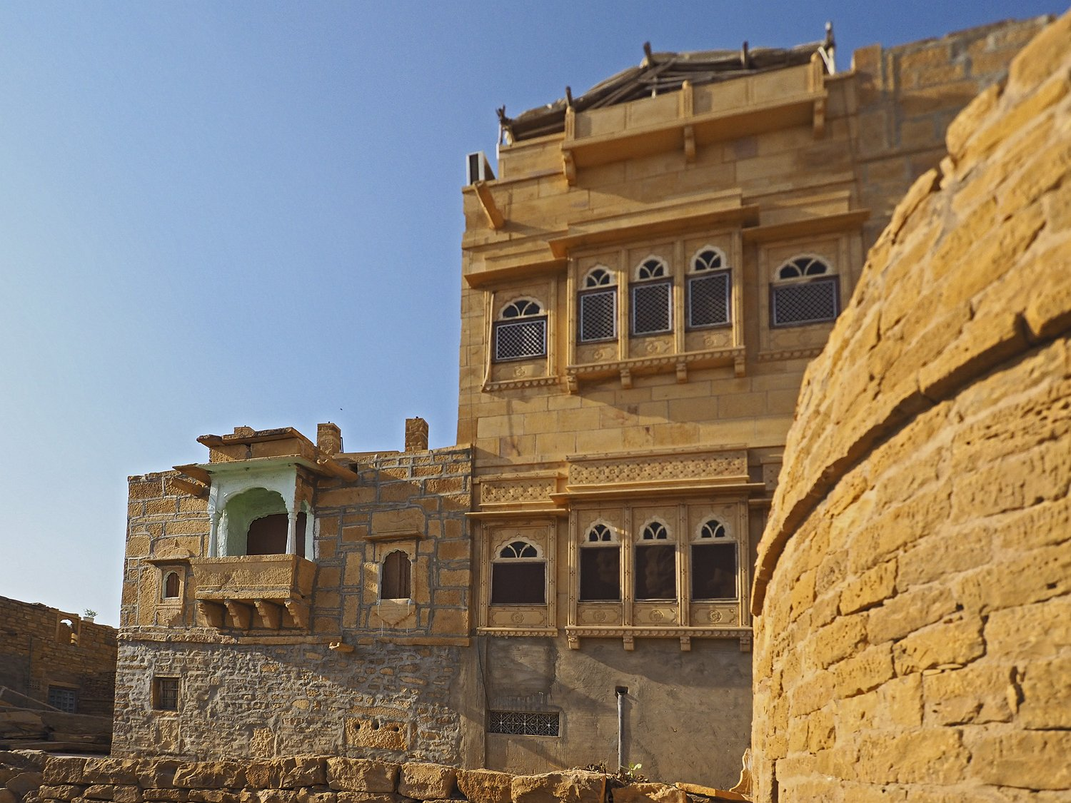 forteresse de jaisalmer. Black Bedroom Furniture Sets. Home Design Ideas